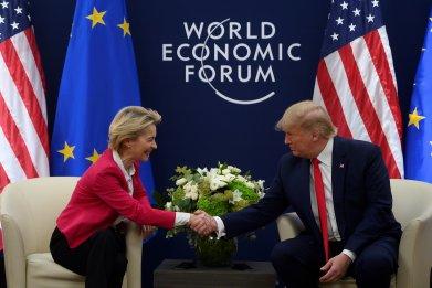 Donald Trump, Ursula von der Leyen, EU