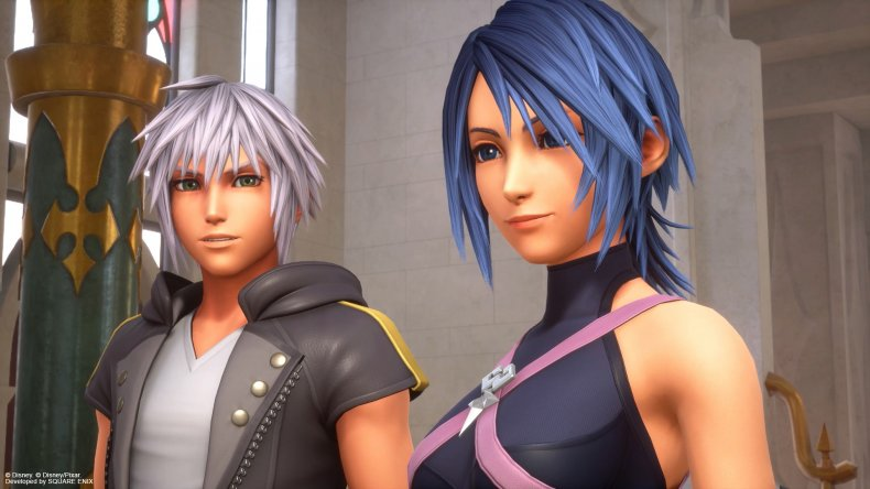 kingdom hearts 3 remind riku aqua