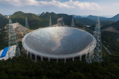 FAST telescope, China