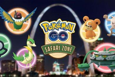 pokemon go st louis safari zone