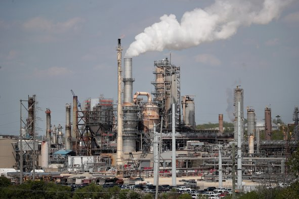 Citgo refinery fossil fuels