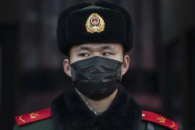 china, coronavirus, Beijing Station , spring festival