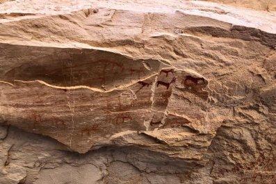 Cave Painting Sinai