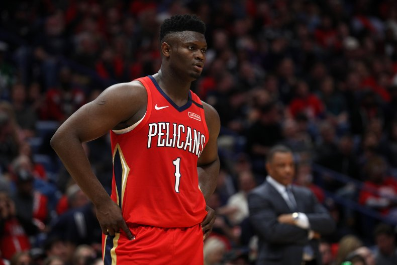Zion Williamson, New Orleans Pelicans