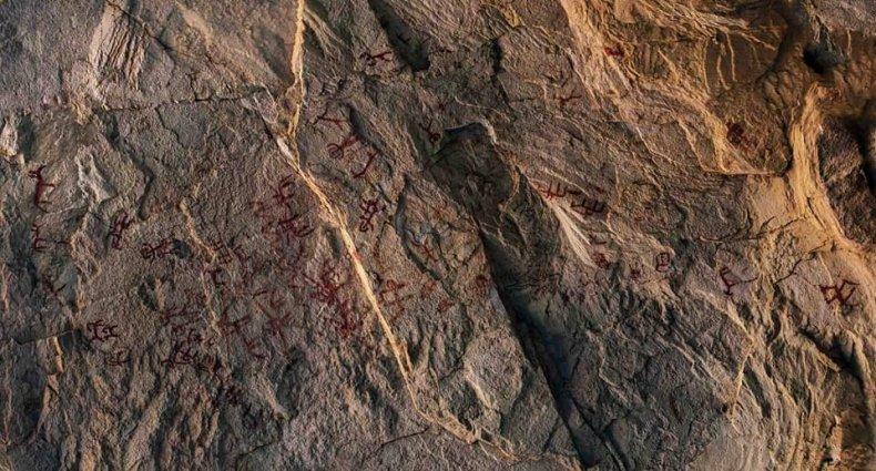 Cave Art Sinai 2