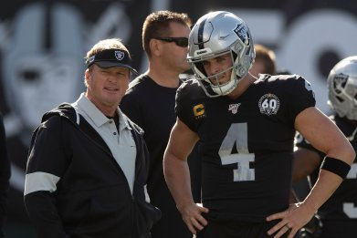 Derek Carr, Jon Gruden, Oakland Raiders
