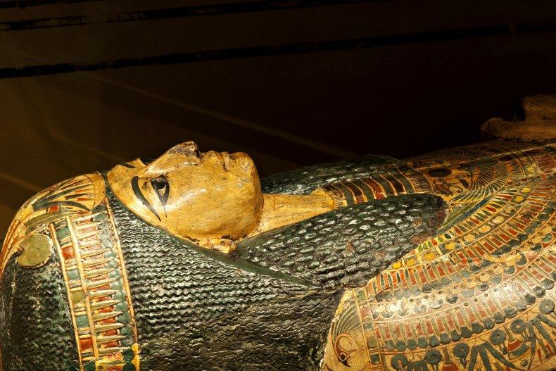 Nesyamun mummy