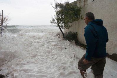 FRANCE-WEATHER-FLOOD-STORM-GLORIA