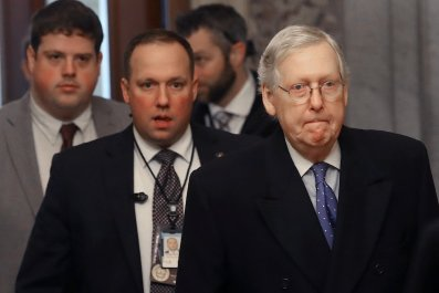 GOP, Mitch McConnell, Senate, trial, 2020, impeachment