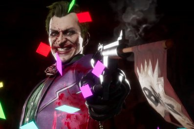 joker mortal kombat 11 fatality