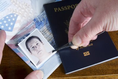 Forging a passport
