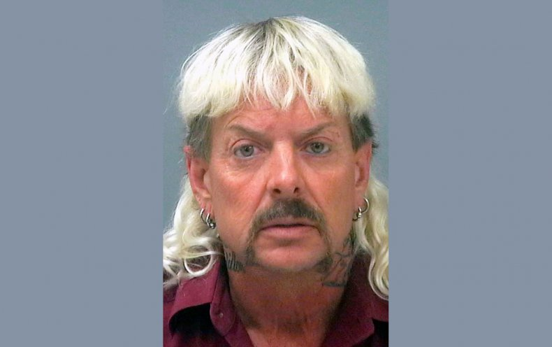 Joe Exotic mugshot