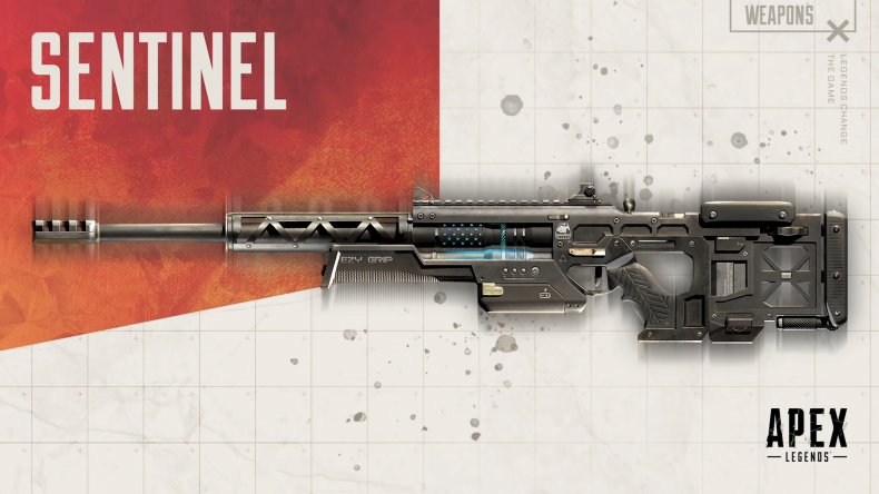 apex legends sentinel