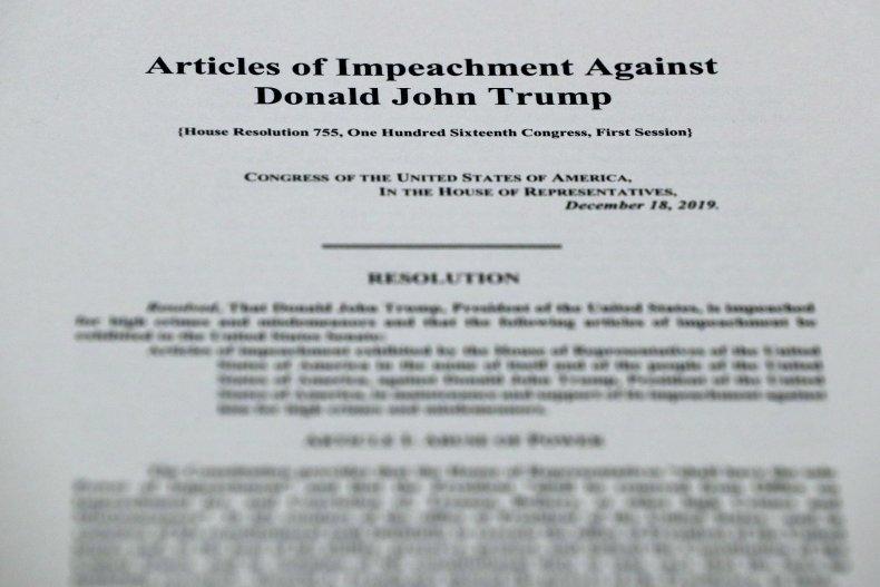 Trump's Impeachment