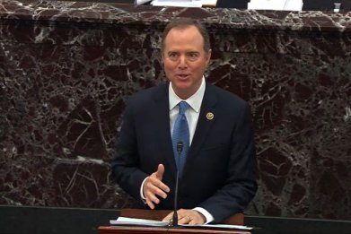 Adam Schiff at Senate Impeachment Trial