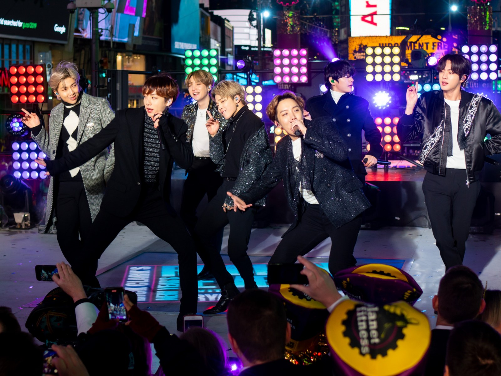 bts new years eve times square 2019