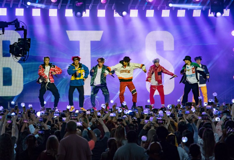 BTS Jimmy Kimmel Live 2017