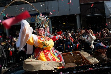 Chinese New Year parade 2015 in NYC