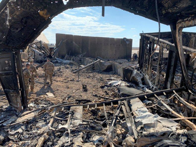 iraq, us, base, iran, missile, attack, damage