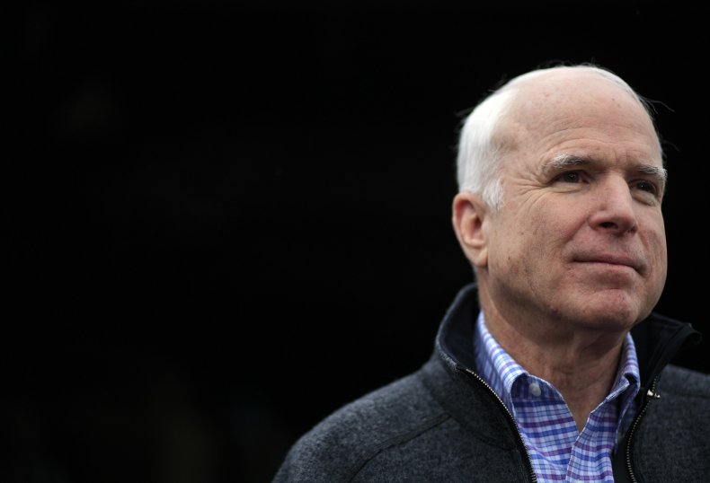 McCain makes appearance trump impeachment trial
