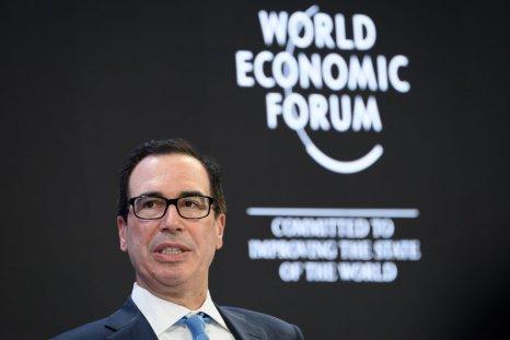 Treasury Secretary Steven Mnuchin at Davos