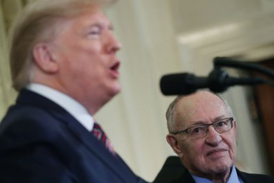 Trump and Dershowitz