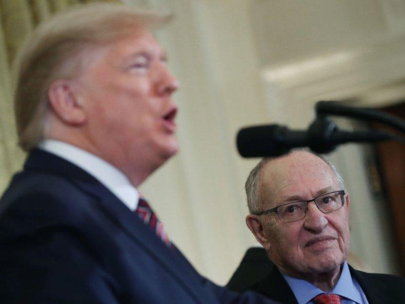 Trump and Dershowitz