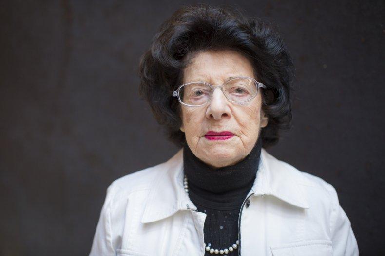 Agi Geva, Holocaust, survivor, tattoo, holocaust denial