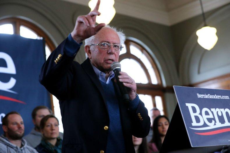 Bernie Sanders in Perry, Iowa