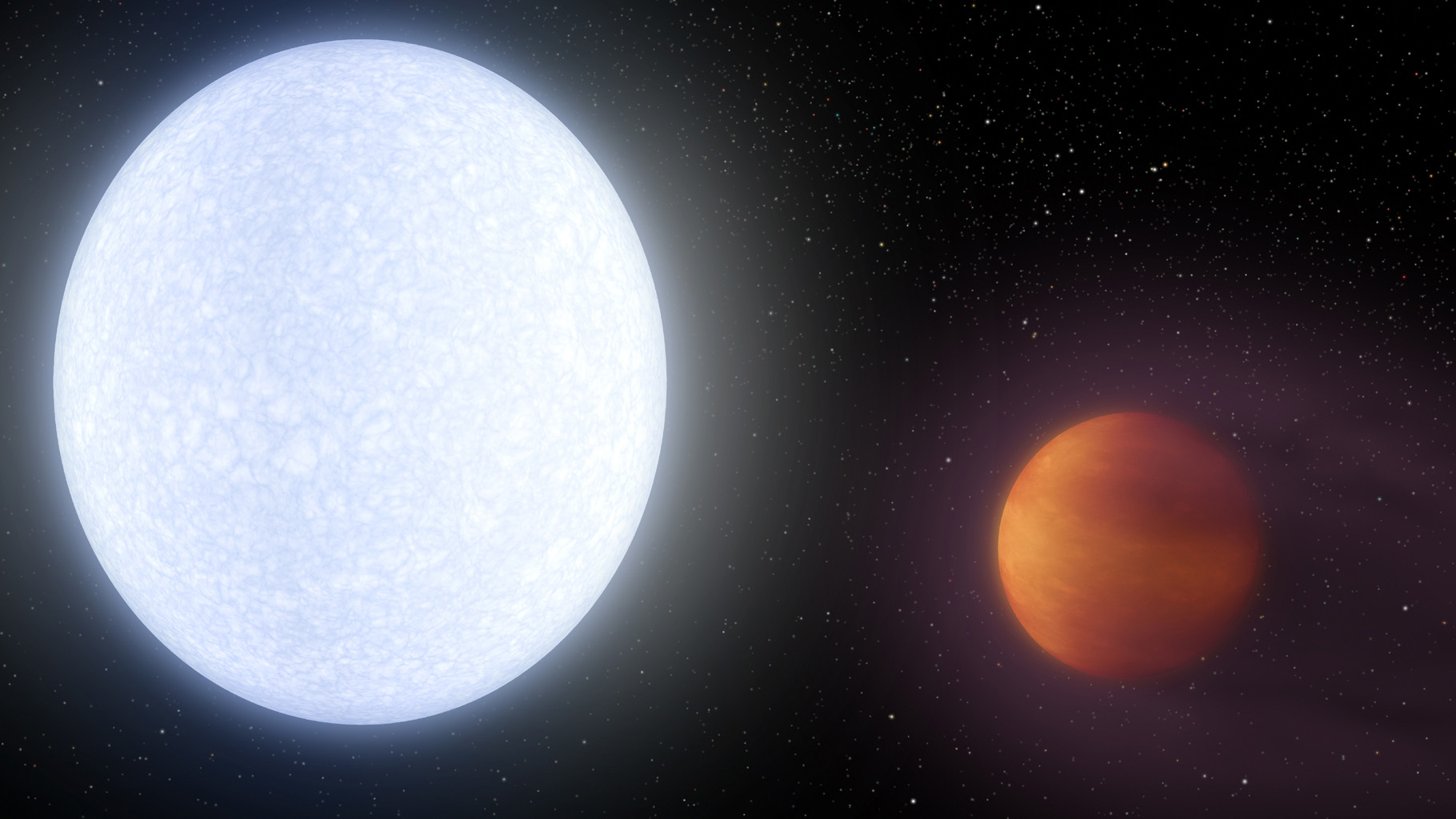 This Planet Is so Hot the Molecules in Its Own Atmosphere Get Ripped Apart - Newsweek