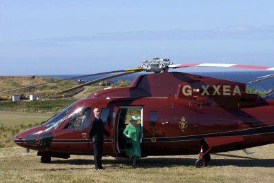 Queen Elizabeth II helicopter Sikorsky S-76