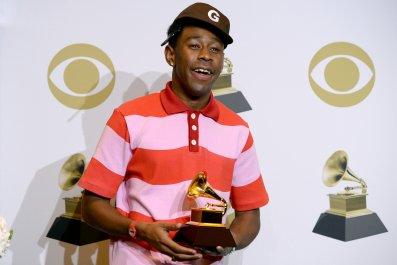 Jaden Smith Congratulates 'Boyfriend' Tyler, the Creator for Grammy Win