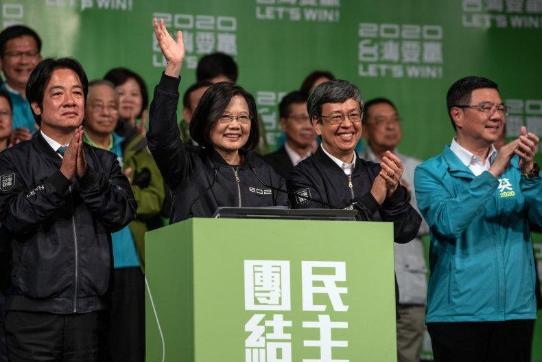 Tsai Ing-wen, China, Taiwan, election, Stanley Kao