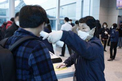 coronavirus south korea us bases military warning