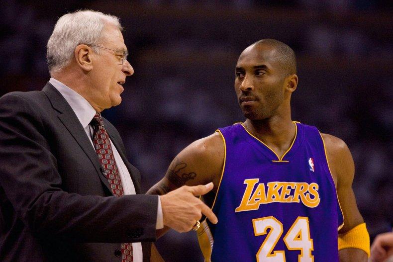 Phil Jackson, Kobe Bryant, Los Angeles Lakers