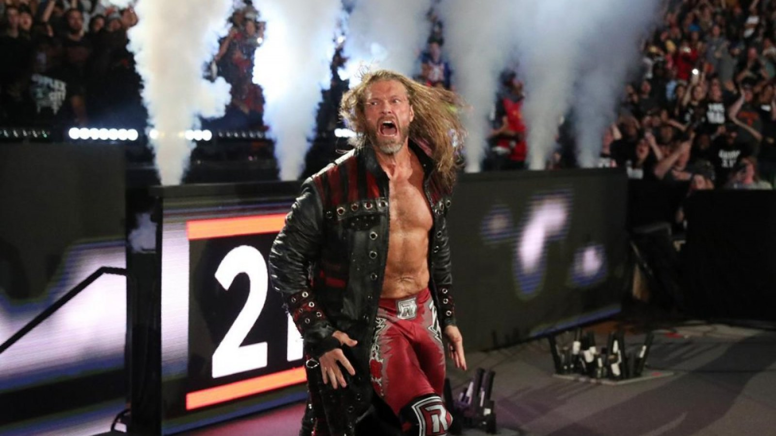 Edge Makes Surprise Return at the WWE 'Royal Rumble' Event