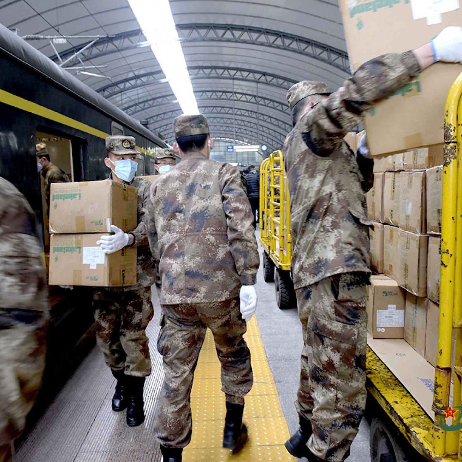 Coronavirus china army