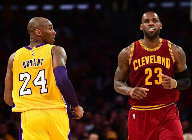 Kobe Bryant and LeBro James