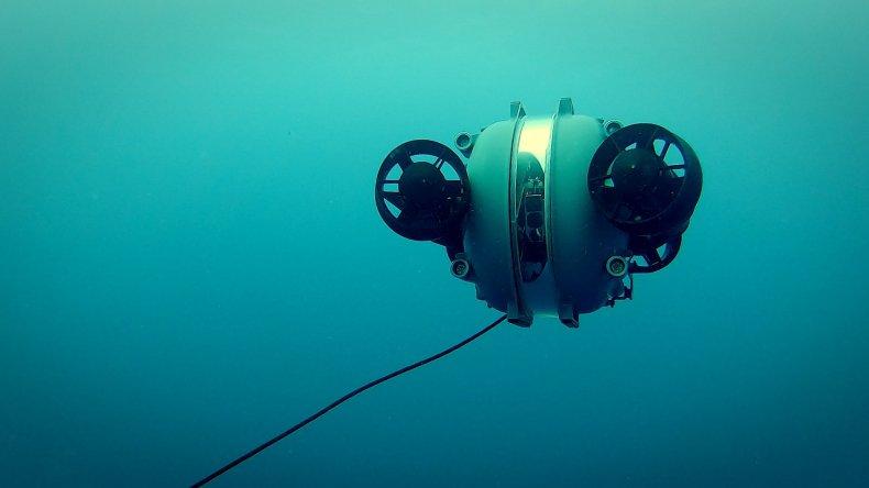 underwater autonomous vehicle