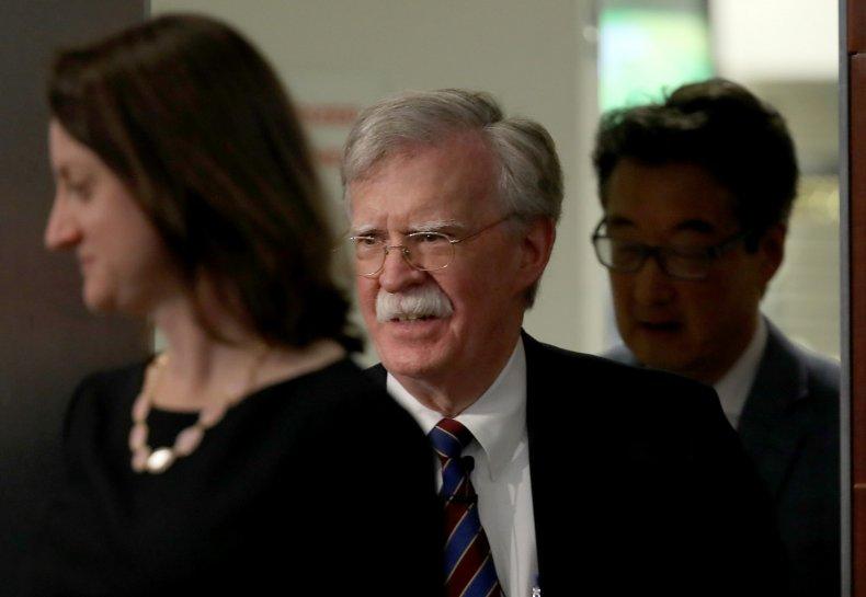John Bolton, Donald Trump, impeachment, book, Ukraine