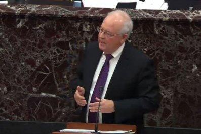 Ken Starr at Senate Impeachment Trial 2020