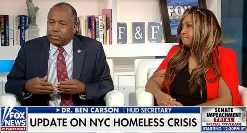 ben carson lynne patton homelessness