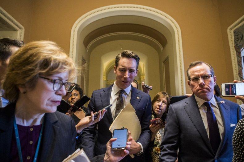 senators question Trump impeachment trial