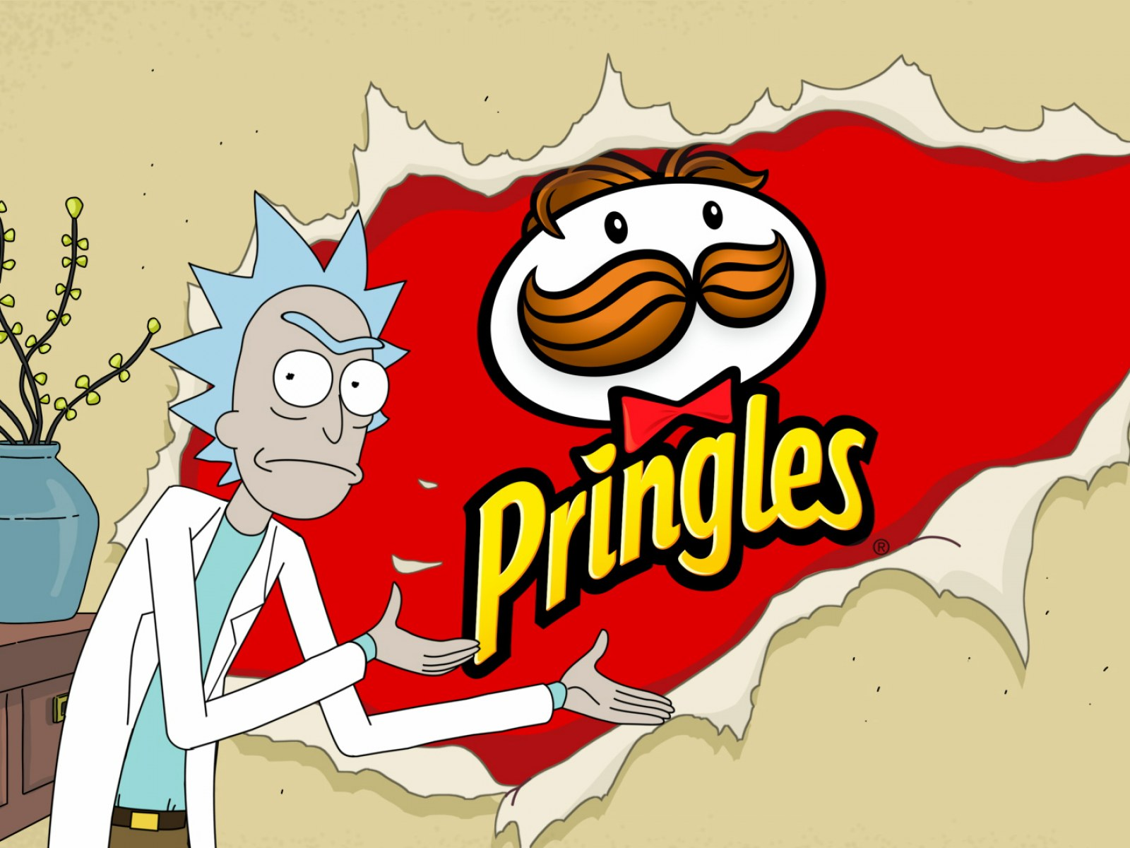 Rick And Morty Pringles Where To Buy Pickle Rick Chips