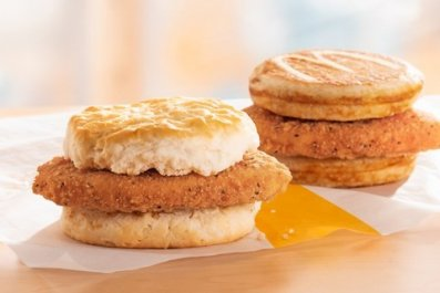 mcdonald's mchicken biscuit chicken mcgriddle