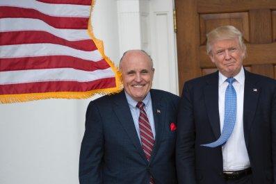 rudy guiliani donald trump impeachment trial