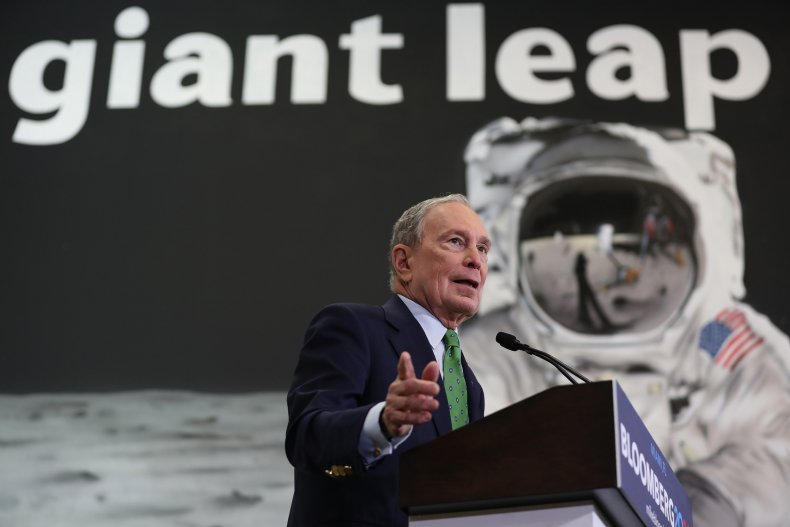 Mike Bloomberg Campaigns In Miami, Florida