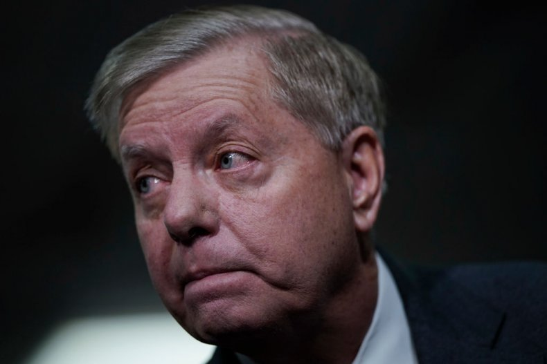 Sen. Lindsey Graham Before Impeachment Trial