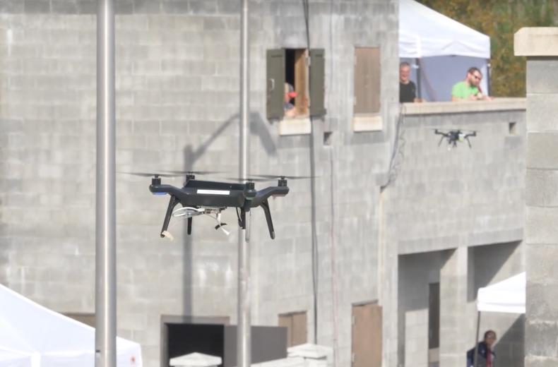 DARPA drone swarm