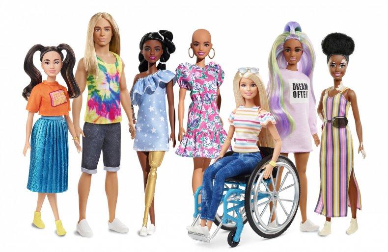 Barbie 2020 Fashionista line up